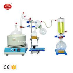 Glasware-kurzer Pfad-Dampf-Destillierapparat für wesentliches Öl-Destillation-Extraktion