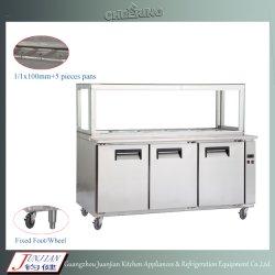 Высокое качество индивидуального охлажденных пиццу до рабочего стола Ce утверждения