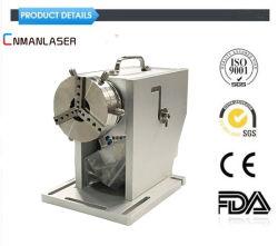machine de marquage au laser à fibre Axe rotatif Electric Outil de rotation