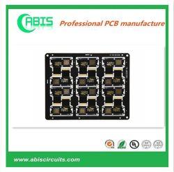 Schwarze Schablonen-multi Schicht Schaltkarte-Leiterplatte-freie Probe