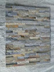 녹스는 선반 또는 성곽 돌 베니어 자연적인 대리석 슬레이트 더미 또는 문화 벽 돌