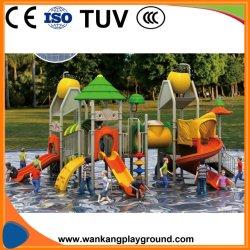 Parc de loisirs de qualité commerciale glissoire d'eau en plastique (WK-A180616)