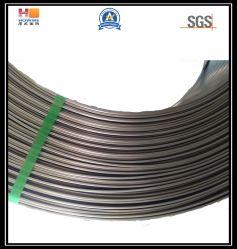 Le laminage à froid un fil plat rouleau avec l'épaisseur 2,5 mm et 9,85mm de largeur pour faire rester bras de la fenêtre