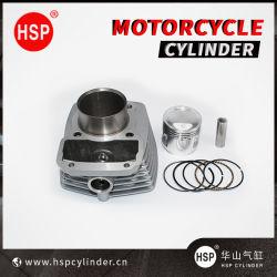 Pièces de moto Kit de bloc des cylindres du moteur pour Honda CG125 (STD) (PETIT RORQUAL COMMUN) (grand 62mm) CG100 CG150 CG175 CG200 CG250 CG300
