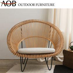 2019 Nouveau jardin extérieur moderne de style Home Hôtel Jardin balcon Ensembles de meubles en rotin Chaise en rotin de pliage