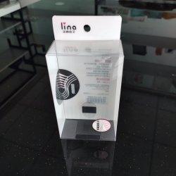 Impression claire cosmétique plastique personnalisé un emballage cadeau Box pour le massage Comb