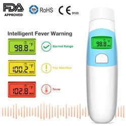 赤ん坊、大人のためのデジタル赤外線耳そして額の温度計