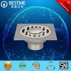 SS304 drainer de plancher peut être connecté au tuyau de la machine de lavage BF-K06A
