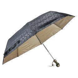 Squelette de la poignée 3 parasol automatique de pliage parapluie anti-UV