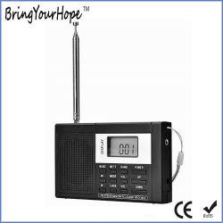 Minitransistor-Radio der Voll-Band Digitalanzeigen-FM/Sw/MW mit Kopfhörer (XH-FM-012)