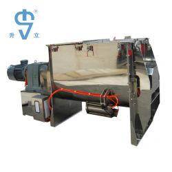 Het Maken van de Zeep van het Poeder van het Voedsel van het roestvrij staal de Horizontale Mixer van het Lint van de Machine