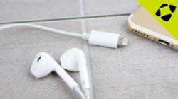 Écouteurs avec connecteur de la foudre d'accessoires pour iPhone 7/L'iPhone8/Iphonex