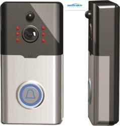 熱い販売のWiFiの32GB記録カードが付いているビデオドアベルのカメラ