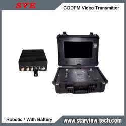 Портативная HD Nlos передачи COFDM (мультиплексирование HDMI беспроводной передатчик видео