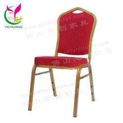 Yc-Zl22-03 Cheap Wholesale Dubai utilisé empilable métal or Hôtel Restaurant Salles de banquet Président pour