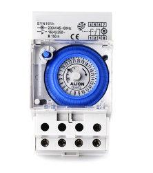 Syn161h 220V-240V 16 (4) un commutateur de minuteur de paroi de 24 heures, Minuterie analogique Limitd