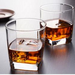 La Chine populaire de gros Vin Bière tasse en verre clair de la Verrerie potable