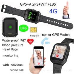 Het Hogere GPS Volgende Horloge van uitstekende kwaliteit met Bloeddruk D46