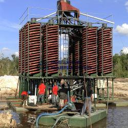 Тяжелых минеральных песков тяжести концентрации машины спирального дна сепаратора