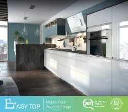 L'alto armadio da cucina del grossista della mobilia della cucina della lacca di colore Acrylic/UV/di lucentezza della fabbrica ha impostato per i progetti globali