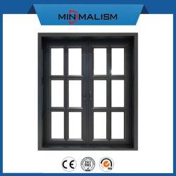 アメリカ様式の押出し開き窓のWindowsのアルミニウムフレーム低いEのガラス