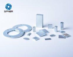 Aplicação Industrial forte/NdFeB magneto de neodímio permanente com o bloco, Anel, cilindro, Arc