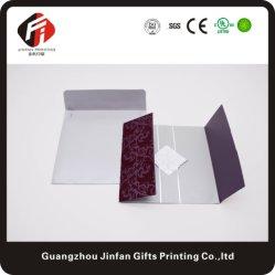 Уникальный пользовательский роскошь бумаги в салоне Luxury свадебные приглашения карты