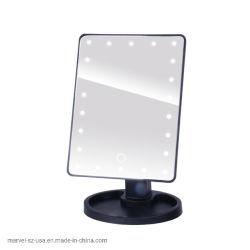 [لد] محترف جميل مستحضر تجميل 16/22 أضواء [تووش سكرين] بنية مرآة