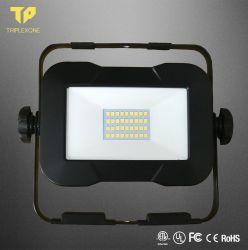 Ce RoHS LVD высокое качество Светодиодный прожектор с черный корпус регулируемая проектор для использования вне помещений рабочего освещения Тип сети переменного тока