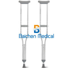 Bc medizinische Onlineeinkaufen-Aluminiumlegierung-leichte Qualitäts-justierbare Krücke für Behinderte