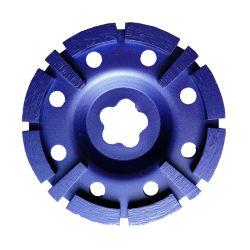 105mm- 180mm Cupwheel 또는 다이아몬드 공구를 가는 거친 다이아몬드 사이클론 컵 바퀴 또는 다이아몬드