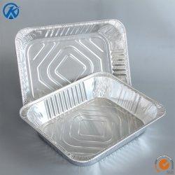 Dampf-Tisch-Wannen-Aluminiumfolie-Wanne der Aluminiumfolie-1/2-Size