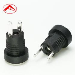 La fábrica de alimentación DC de 2,1 mm 5,5 mm Jack hembra, DC Jack de alimentación, adaptador de enchufe Jack de alimentación DC
