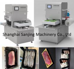 Fabricante de dispositivos automáticos de carne de aves de capoeira marisco alimentar filete de peixe Camarão Embalagem de pele de vácuo/ Soluções de embalagem