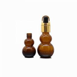 30мл Calabash пустые стеклянные бутылки Gourd масло единой формы