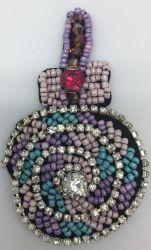 Cartoon fruits avec des perles et paillettes de Patch pour l'habillement et accessoires de sac