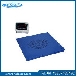 10t digital LCD Escala de piso de pesagem com impressora