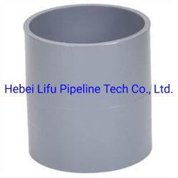La Chine fournisseur Tuyau PVC en plastique pour l'approvisionnement en eau d'accouplement
