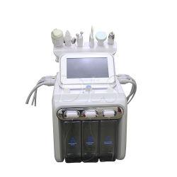 H2O2 수소 산소 작은 거품 초음파 마이크로 물 아름다움 장비, 1대의 Hydrogen&Oxygen 작은 거품 마스크 청소 아름다움 기계에 대하여 6