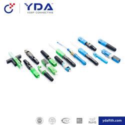 FTTH Council Sc FC Conector Rápido de fibra óptica LC Conector para cabo de descida rápida