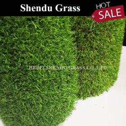 sull'erba artificiale della moquette 20mm del tappeto erboso di falsificazione di prezzi di vendita per l'abbellimento e la decorazione