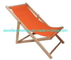Cadeira de praia de madeira com tecido Ployster 600d (EP-C10162)