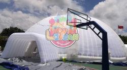 24m x 24m aufblasbares Dreizack-Abdeckung-Zelt mit luftdichten Trägern