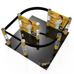 Mostra del Portable della visualizzazione del tessuto di tensionamento del basamento dell'Expo della fiera commerciale