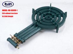 10.25kg/10.90kg (RD-GS099-1) Roheisen-Gasbrenner-Küche-Gerätegasbrenner