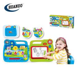 Kind-neuer erlernender elektronischer Spielwaren-Koffer-Schreibens-Schreibens-Vorstand mit Musik