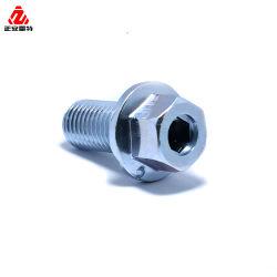 Präzisionsausführung Edelstahl Aluminium CNC-Bearbeitung Drehen Fräsen Drehteil für Autoteile