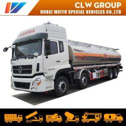 Dongfeng 30cbm camion-citerne de livraison de mazout 8*4 Essence du diesel pétrolier camion citerne