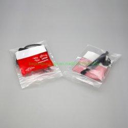L'emballage personnalisé direct usine OEM grand sac ziplock de rangement en plastique à fermeture ZIP PEBD