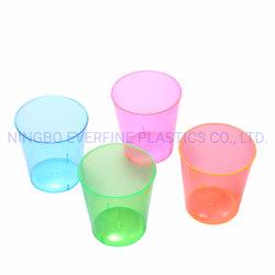 2oz plastic Beschikbaar Neon Ontsproten Glas (PS)